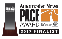 Auotmotive News Announces Toyoda Americas as 2017 Pace Award Finalist